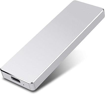 USB3.0 Disco Duro Externo para PC MacBook Mac,Xbox Chromebook 2TB,Dorado Disco Duro Externo 1 TB