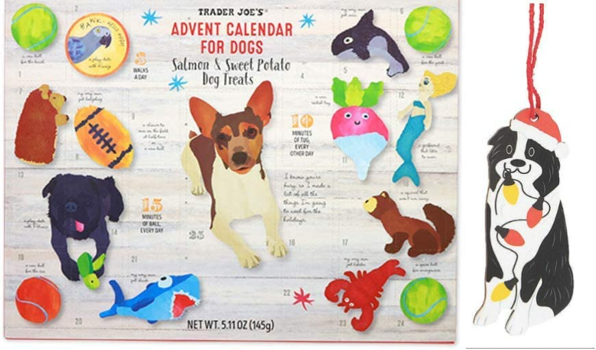 Trader Joe's Advent Calendar for Dogs