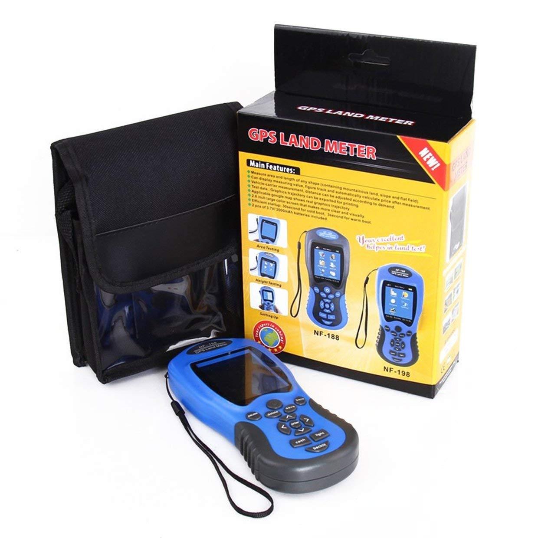 Qewmsg NF-198 GPS-Testgerä te GPS Land Zä hler LCD Display Messwert Bild Farm Land Vermessung und Kartierung Flä chenmessung