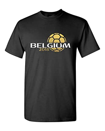 7430327a700 Amazon.com: Pam GM Belgium Mens Soccer T-Shirt World Cup 2018: Clothing