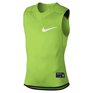 f28e407e34a6 Image Unavailable. Image not available for. Color  Nike Mens Vapor Speed  Padded Football Shirt Green Size ...
