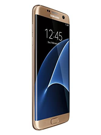 Samsung Galaxy S7 Edge 32GB G935T for T-Mobile - Gold Platinum (Renewed)