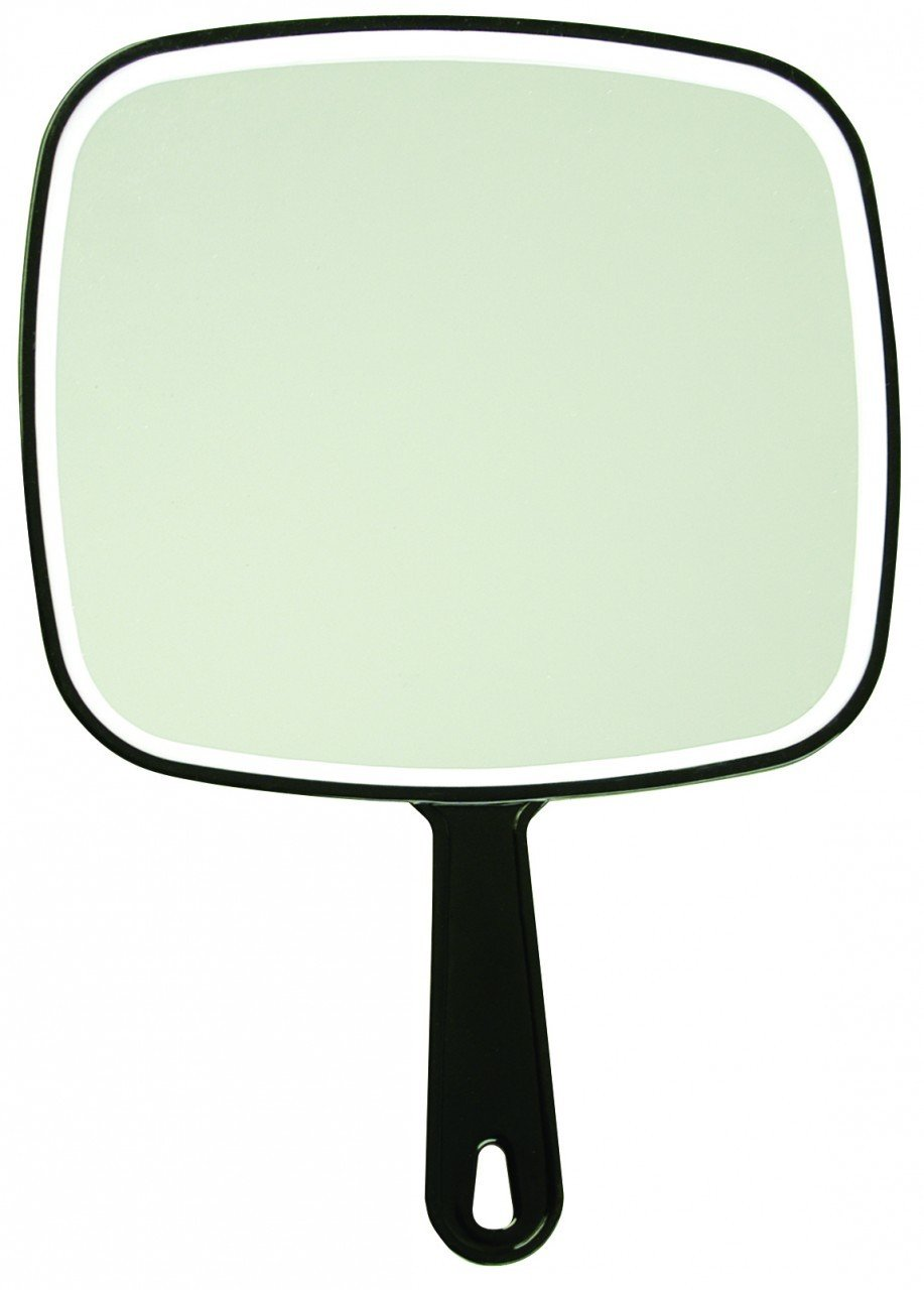 Luxor Salon Mirrors - Hand Held Paddle Mirror / 9 X 12.5 / (1805W)
