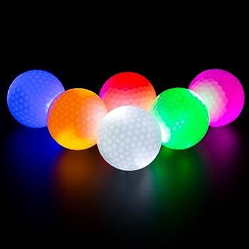 ILYSPORT LED Light up Golf Balls
