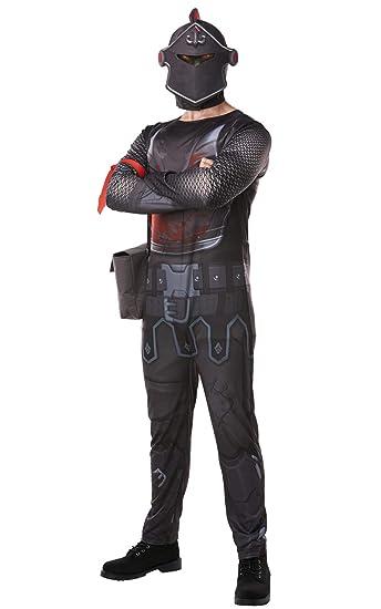 Rubies Fortnite Black Knight Adult Costume Jumpsuit w/Mask & Accessories - Medium