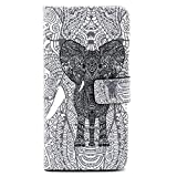 Sony Xperia Z3 Case, Premium PU Leather Wallet Flip Protective Skin Case with Magnetic Closure for Sony Xperia Z3 with Card Slot 5.2inch(Pattern 2)