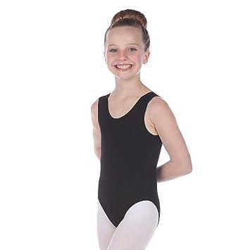 2008efba3518 Danzcue Child Cotton Tank Ballet Cut Leotard  Amazon.co.uk  Sports ...