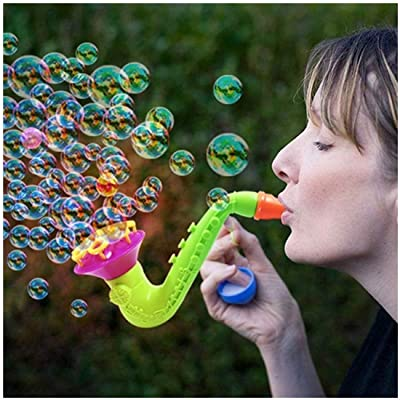 Summer Playing Water Blowing Toys Bubble Gun Soap Bubble Blower Outdoor Kids Child Toys Creative Wedding Party Birthday Gifts: Toys & Games