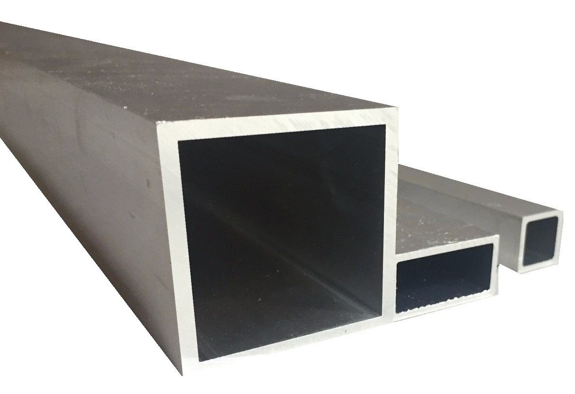 Aluminium Square Tube Rolled Bare (25  mm x 25  mm x 2  mm x 1500  mm) metalexpres