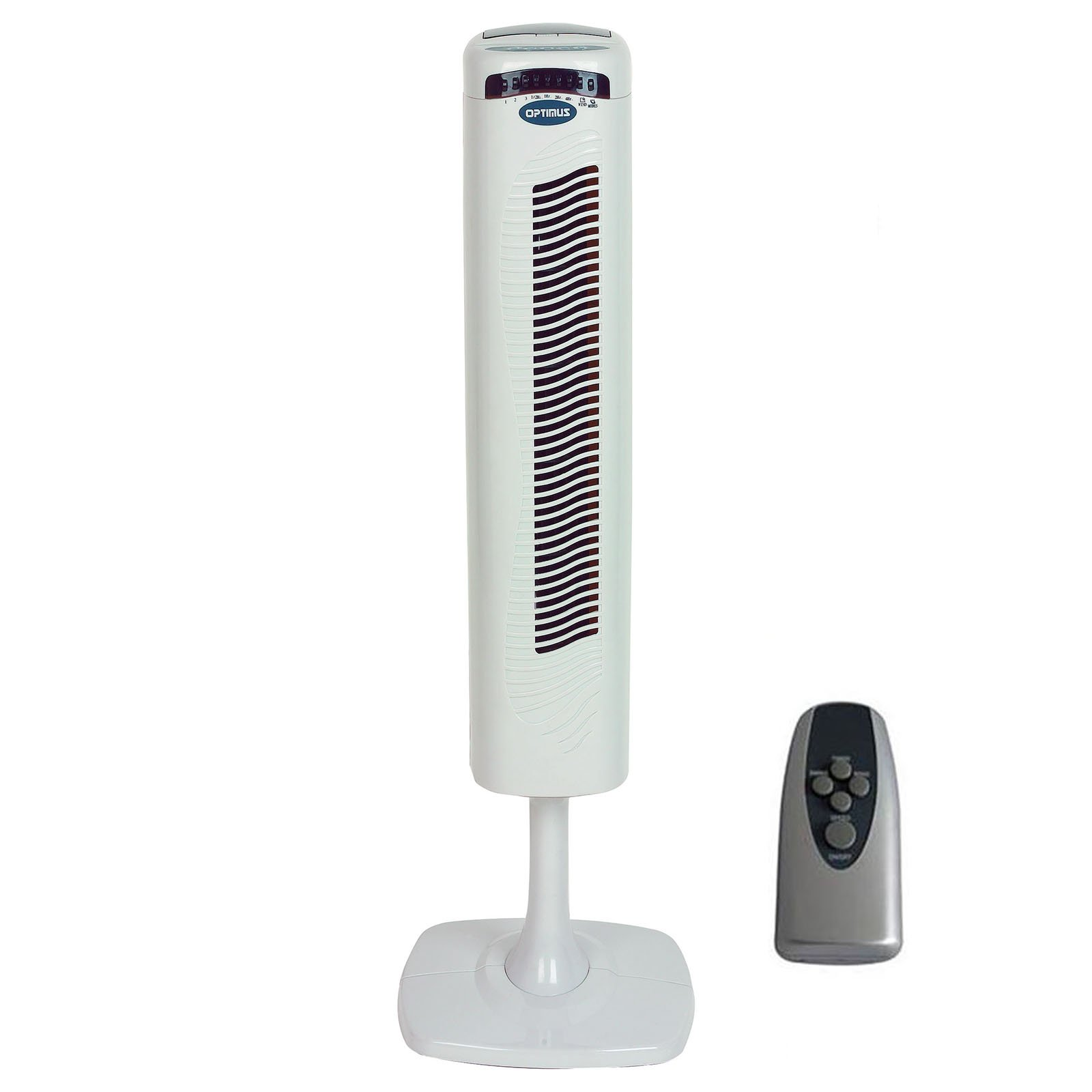 40'' Pedestal Tower Fan with Remote Control & LED