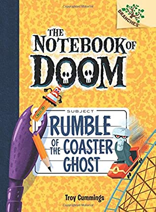 book cover of Rumble of the Coaster Ghost