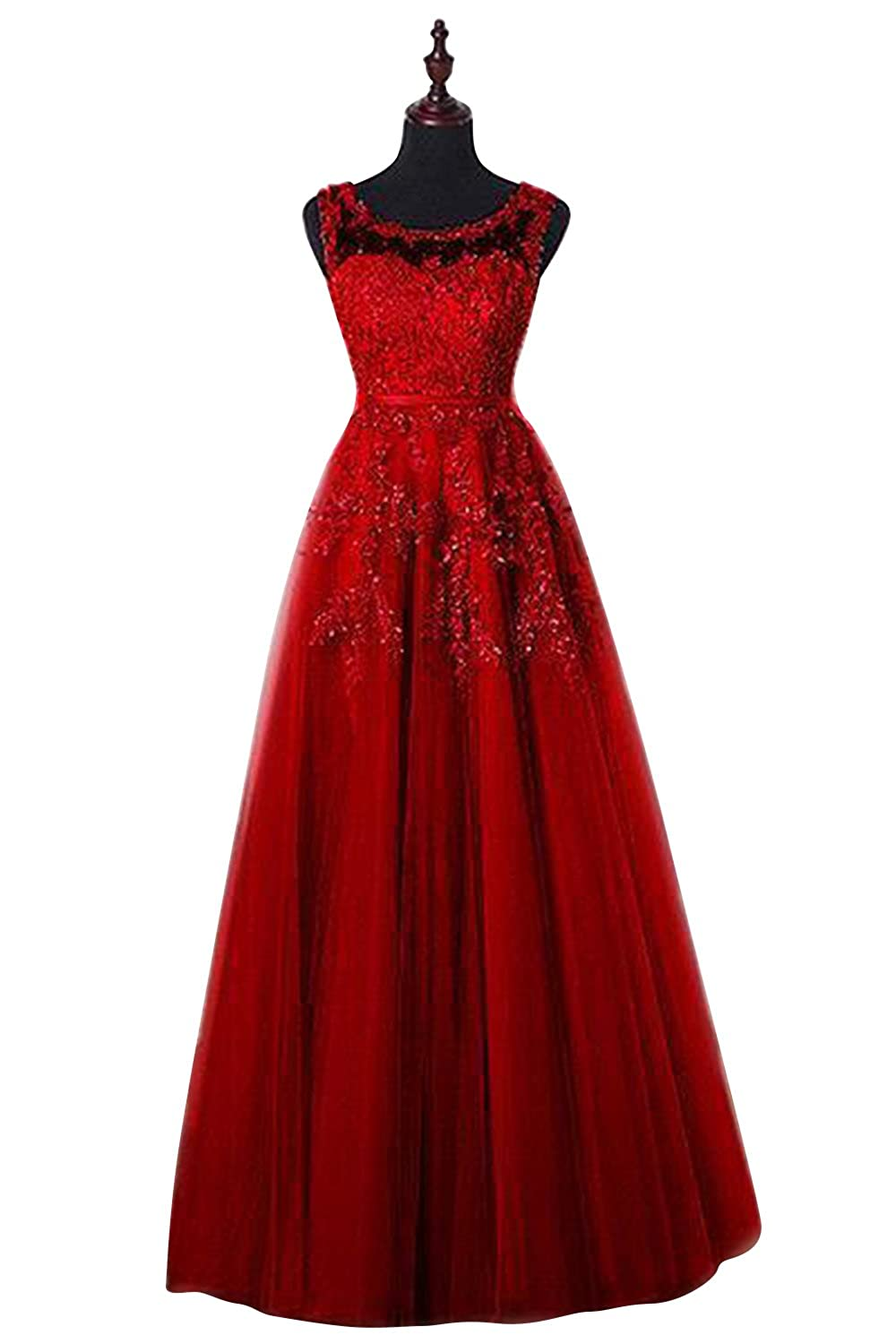 Babyonlinedress Women's Tulle Appliques Short Evening Cocktail Gown Homecoming Dress