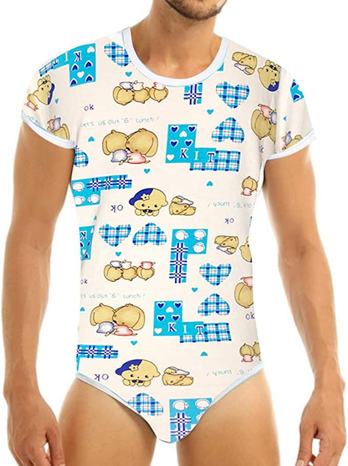 Abdl Adult Baby Girl Onesie Romper Size Small UK Size 8~10
