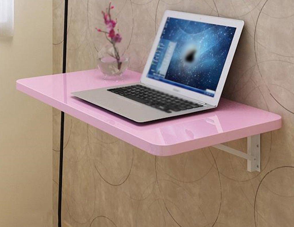 ホームアクセサリー 小型折りたたみコンピュータデスクデスクトップノートブックコンピュータデスクシンプルな折りたたみテーブルカラーサイズオプション (色 : ピンク ぴんく, サイズ さいず : 100*40cm) B077ZLSHY5 100*40cm ピンク ぴんく ピンク ぴんく 100*40cm