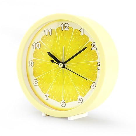 RFVBNM Fresco fruta sandía despertador reloj simple reloj de ...