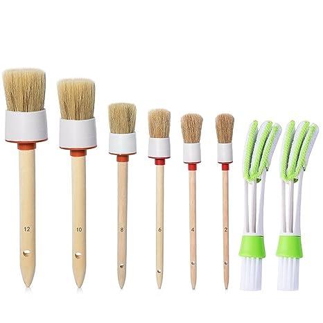 capelli naturali di cinghiale detail Brush (set of 6) eda1b8b57a2c