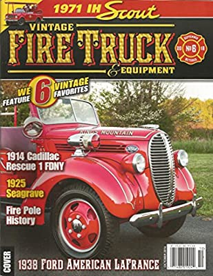 Vintage Fire Truck and Equipment Magazine (October 2016)