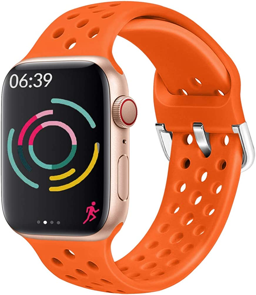 Top 10 Orange Silicone Apple Watch Band