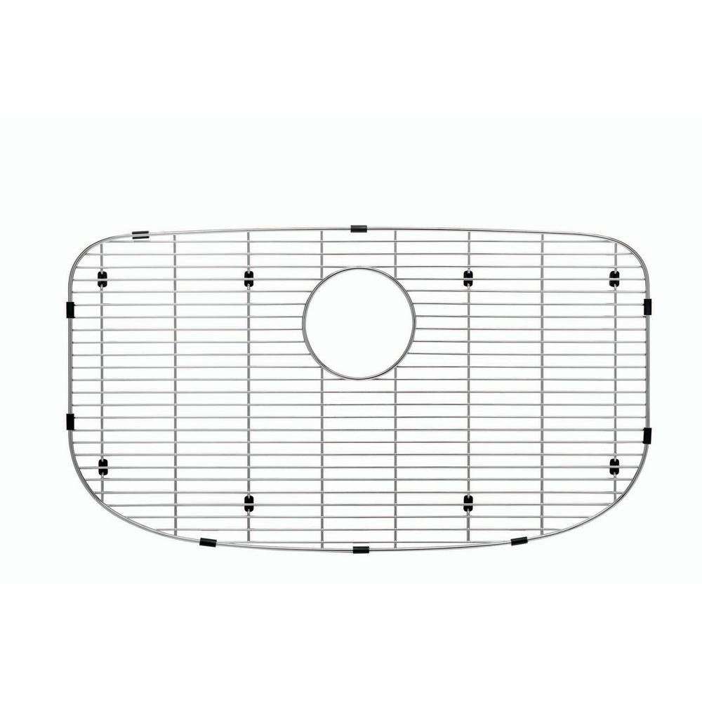 Blanco 230668 Sink Grid for One Super Single Bowl Kitchen Sink, Small, Stainless Steel