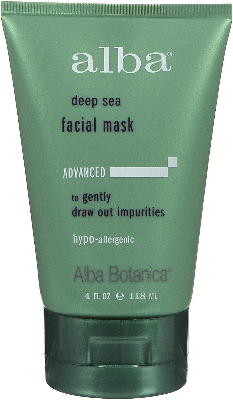 Deep Sea Facial Mask Alba Botanica 4 oz (Pack de 8): Amazon.es: Belleza