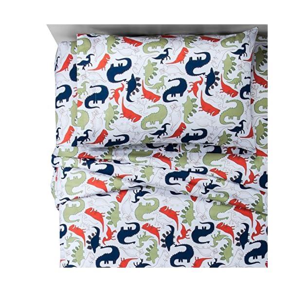 Pillowfort-Dinosaurs-Cotton-Sheet-Set-Twin