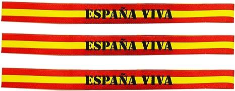 Pulsera Tela España. España Viva. Medida: 30 x 1.5 cm: Amazon.es: Deportes y aire libre