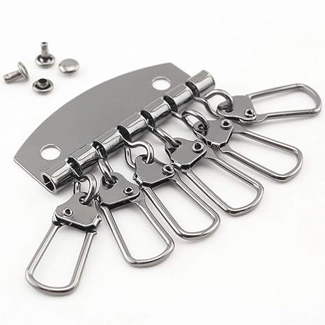 Llavero organizador de llaves de hierro de 4,8 cm para hacer ...