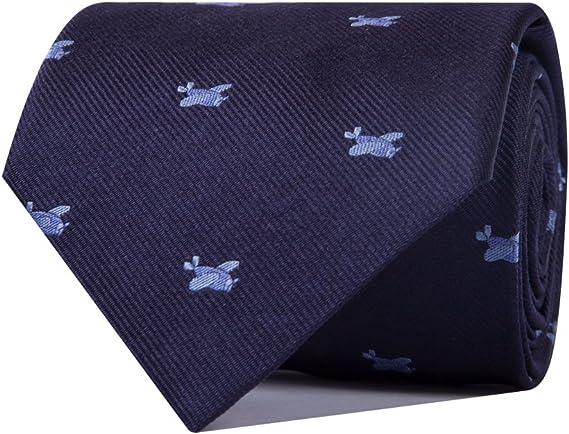 SoloGemelos - Corbata Aviones - Azul - Hombres - Talla Unica ...
