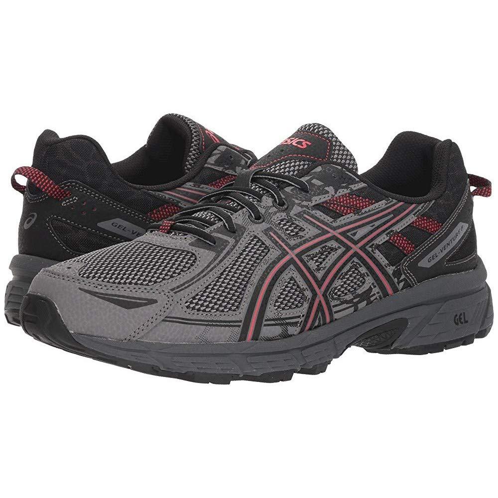 ASICS Mens Gel-Venture 6 Running Shoe, Carbon/Cayenne, 10.5 by ASICS