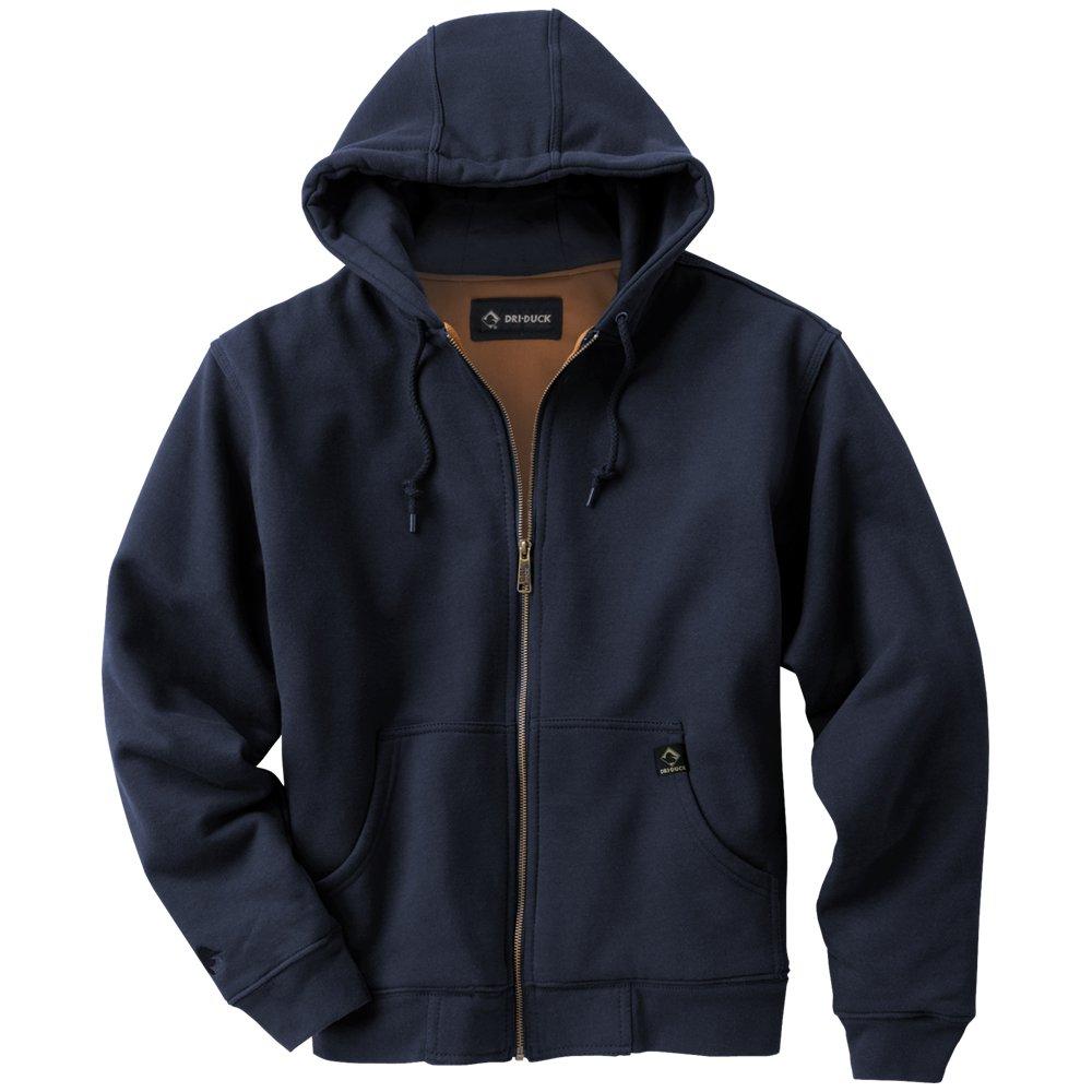 DRI Duck Men's Crossfire Hooded Fleece Jacket Dri-Duck Traders 7033