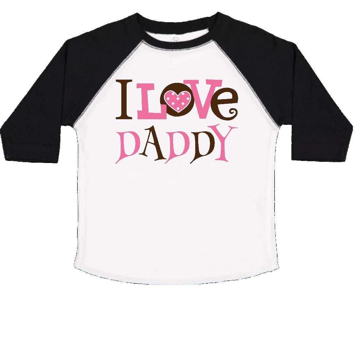inktastic I Love Daddy Cute Toddler T-Shirt