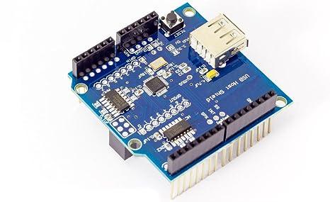 USB Host Shield adaptador entwic klun tarjeta para Arduino UNO Duemilanove Mega 2560