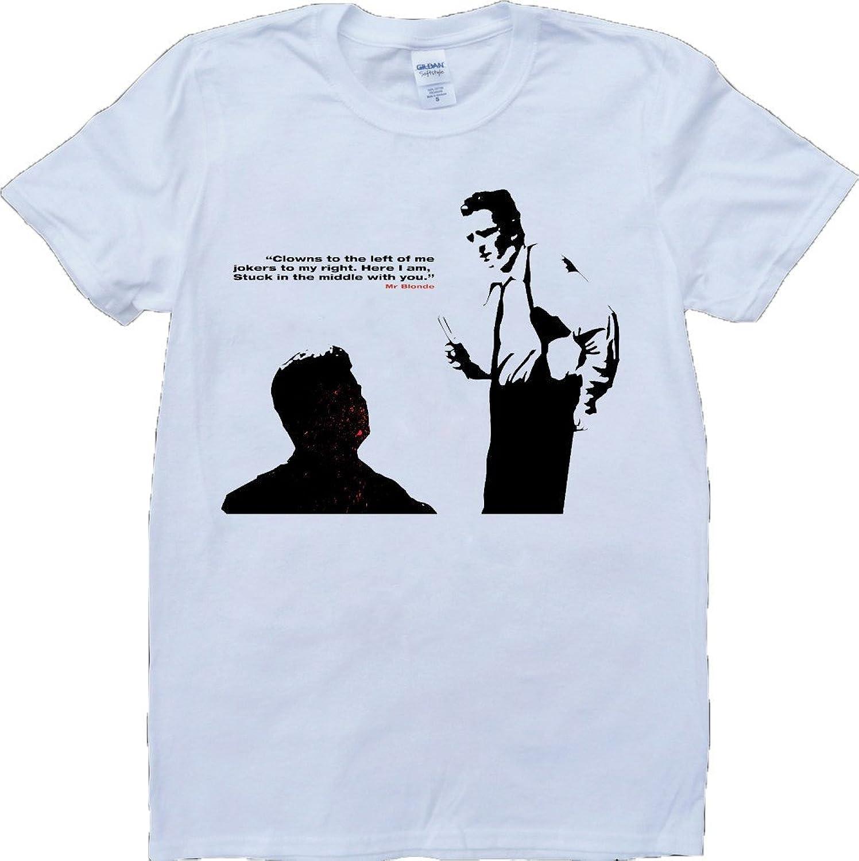 Reservoir Dogs Mr Blonde Short Sleeve Crew Neck Custom Made T-Shirt