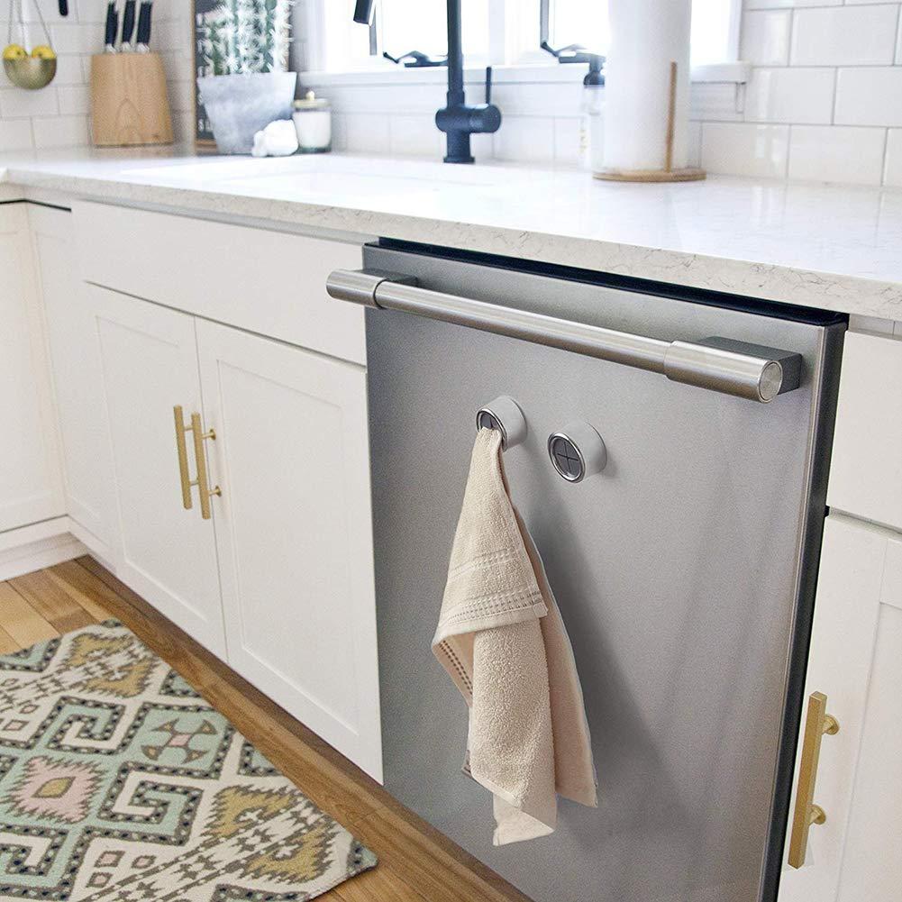 3x Selbstklebend Handtuchhaken Handtuchhalter Küche Bad