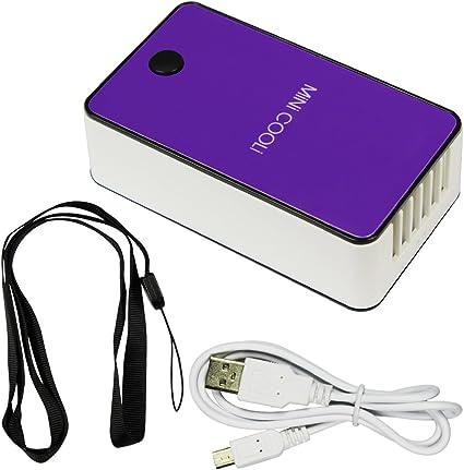Mini condizionatore d/'aria di viaggio portatile USB ricaricabile Ventola di...