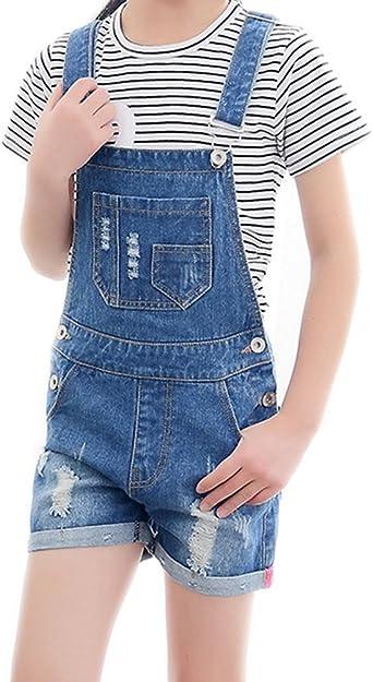 Amazon Com Big Girl S Kid Bf Pantalones Cortos Para Nina 1 Pieza Moderno Equipada 11 12 Anos Clothing