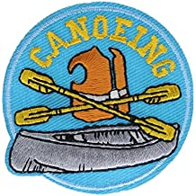 Canoeing Small 2 inch patch Ava4011