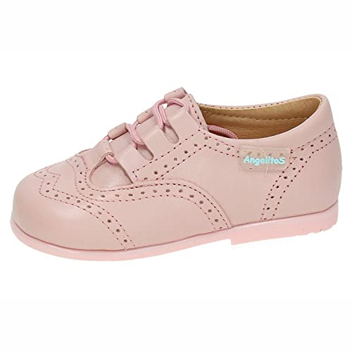 ANGELITOS 505 Mocasines INGLESITOS NIÑA Merceditas Rosa 18