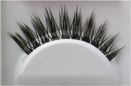 Daorier Faux Cils D/ésordonn/é et Long Volumineux Naturel Faux Cils Maquillage Yeux Eyelashes Noir 5 Paire