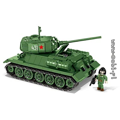 COBI Small Army T-34/85 Tank: Toys & Games