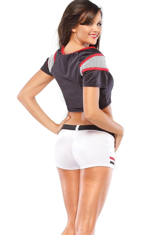 amazoncom football player sexy one size clothing - Girls Football Halloween Costume