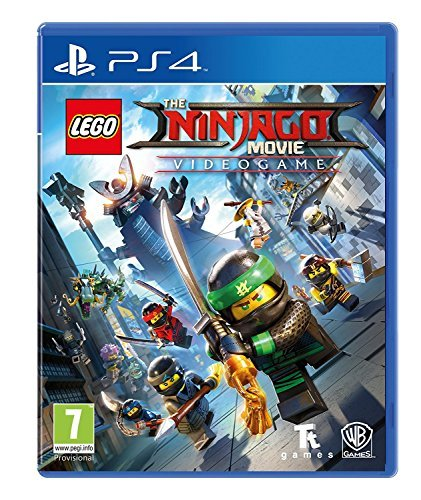 - LEGO Ninjago Movie Game: Videogame (PS4)