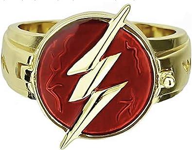 Kiaka Flash - Anillo de superhéroe para Disfraz, Accesorio para ...