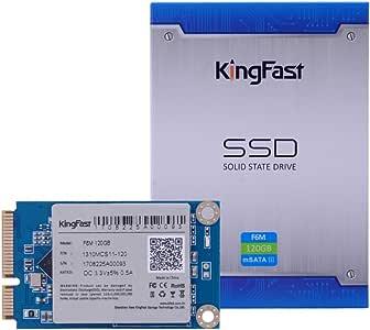 KingFast 1310MCJ15-120 mSATA Disco duro sólido interno SSD de 128 ...