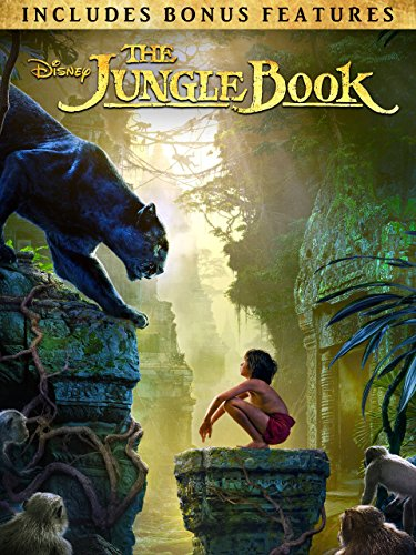 The Jungle Book (2016) (Plus Bonus Features) (The New Lion King Two Part 2)