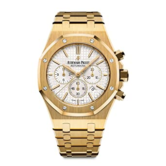Amazon Com Audemars Piguet Royal Oak Chronograph 41mm Yellow Gold