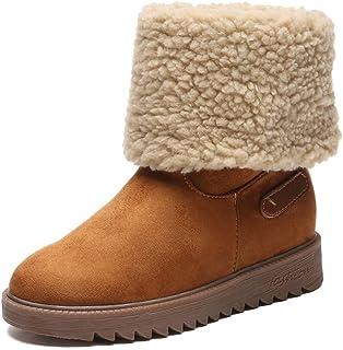Kaiki Hiver Boots,Femmes Bottes d'hiver Chaudes Bottes en Coton Bottes Bottes Martin Bottes de Neige Botte Courte,Taille 35-43 Femmes Bottes d'hiver Chaudes Bottes en Coton Bottes Bottes Martin Bottes de Neige Botte Courte K181201AA1987