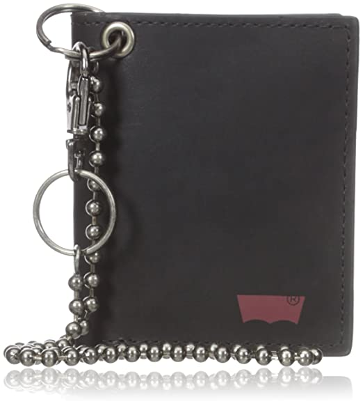 9be01ef476674 Levi's Boys' Boys Wallet with A Chain and Logo