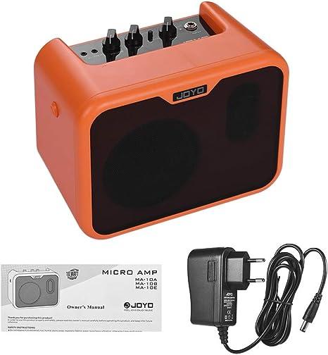 Muslady JOYO MA-10A Mini Altavoz Amplificador de Guitarra Acústica ...