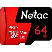 KKmoon Netac Pro 64GB UHS-I / U3 microSDXC Memory Card